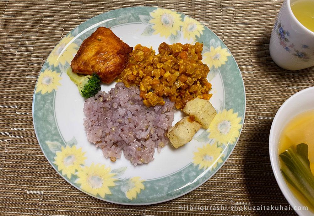 B-Kitchenのお弁当盛り付け例