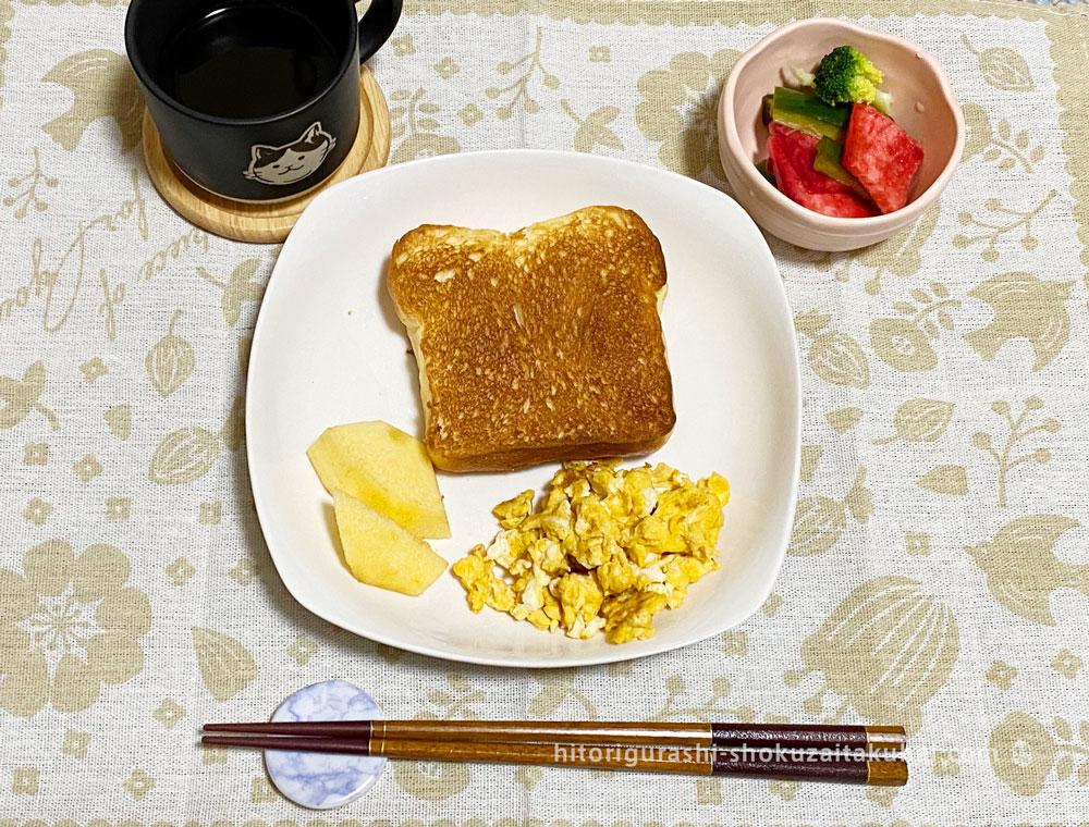 らでぃっしゅぼーやで朝食を作った